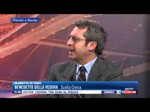 Sottosegretario Della Vedova ospite a 'Faccia a faccia'