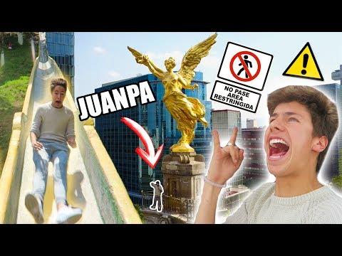 LOGRÉ ENTRAR AL MONUMENTO MÁS IMPORTANTE DE MÉXICO / Juanpa Zurita