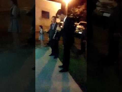 Irmão boliviano tocando em Ivaté PR