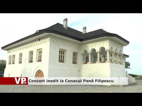 Concert inedit la Conacul Pană Filipescu