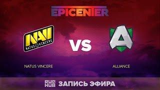 Natus Vincere vs Alliance, EPICENTER EU Quals, game 2 [GodHunt, Faker]