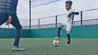 Video Most Beautiful Skills & Tricks by Kids in Futsal/Football #2 MP3, 3GP, MP4, WEBM, AVI, FLV November 2017