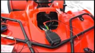 7. Arctic Cat 366 testing the  ignition coil peak voltage