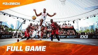 Don't miss any minute and watch the full game of the Quarter-Final between USA and Qatar at the #3x3WCH. Subscribe to the FIBA3x3 channel: ...