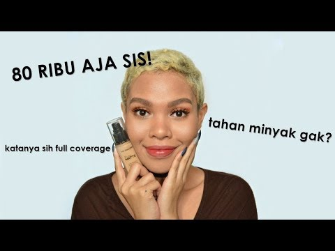 Foundation Full Coverage? Dibawah 100 Ribu! L.a Colors Truly Matte Foundation Review