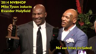 2014 NVBHOF: Mike Tyson Inducts Evander Holyfield