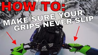 7. HOW TO: REPLACE YOUR GRIPS AND HAND WARMERS
