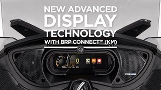 9. 2018 Can-Am Spyder - New Advanced Display Technology with BRP ConnectTM (Km)