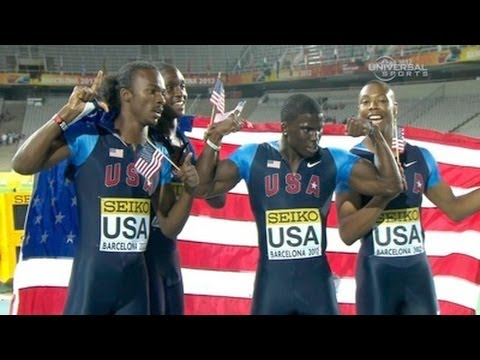 American boys remain Junior 4x100 champs - Universal Sports