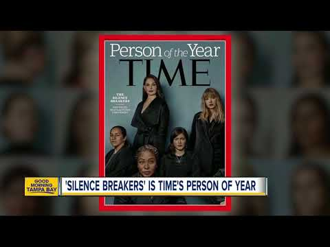 'Silence Breakers' of #MeToo movement named TIME magazine's 2017 person of the year