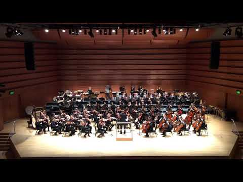 End of Copland's 3rd Symphony, 4th Movement