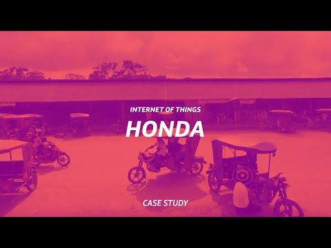 Telefónica IoT y las motos Honda en Perú: ayudan a vivir mejor