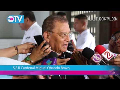 Cardenal Miguel Obando participa en proceso de verificación ciudadana