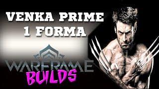 Warframe (pt-BR)  Venka Prime (1 Forma) - WOLVERINE! Fala abrobas! Thukdun na área trazendo a build da arma do...