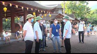 TP Uông Bí: Bí thư Thành ủy Nghiêm Xuân Cường kiểm tra công tác phòng dịch tại các điểm du lịch trên địa bàn