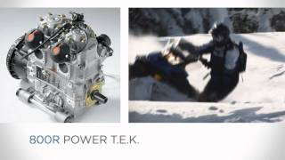2. Ski-Doo 2011 Rotax 800R Power T.E.K. Engine