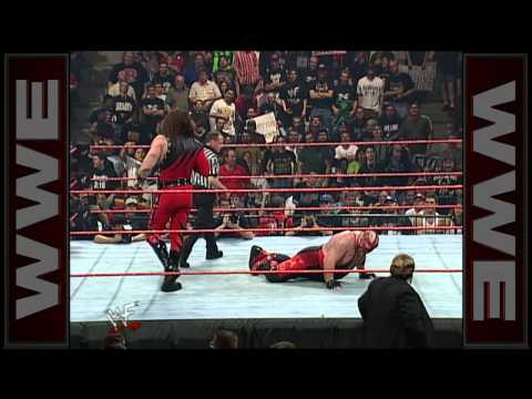 mask kane - Kane and Vader fight to keep from showing their faces to the WWE Universe.