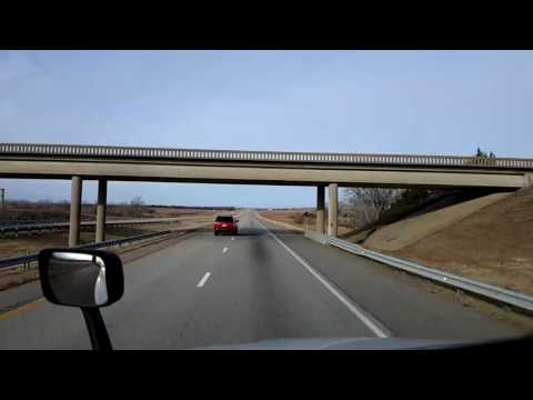 Bigrigtravels Live! - Salina To Colby, Kansas  - Interstate 70 - February 14, 2017