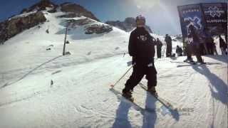GoPro HD: Tom Wallisch Slopestyle TV Course Preview - Winter X Games Europe 2012