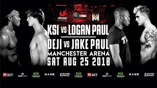 KSI VS. LOGAN PAUL [OFFICIAL LIVE STREAM]
