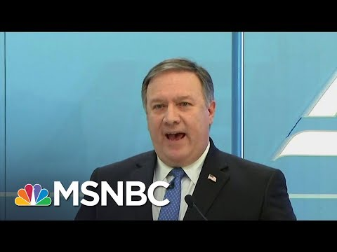 Mike Pompeo Focuses On Trump As 'Customer Number One,' Says Fmr. Dep. CIA Dir. | MTP Daily | MSNBC
