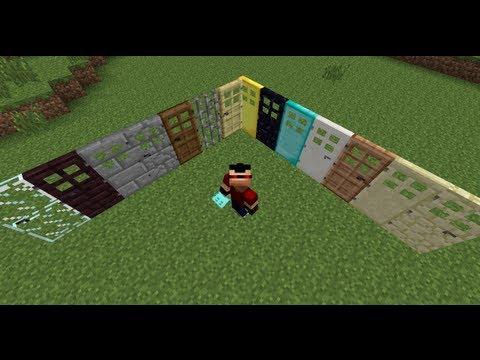 Minecraft MOD   Puertas RE-LOCAS (Extra Doors)