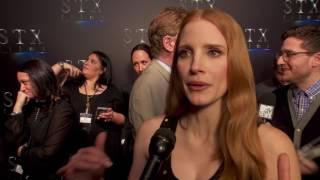 CinemaCon presentation STX films Jessica Chastain Molly's  Game