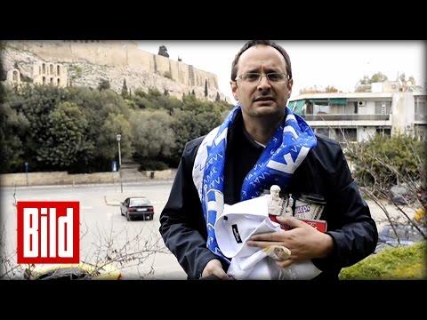 Keine Quittungen in Athen - BILD macht den Griechenland-Test (Euro / Krise / Schulden)