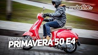 2. VESPA PRIMAVERA 50 E4 | TEST 2018