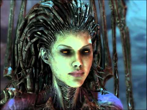 Kerrigan - All of the quotations from Kerrigan, the Queen of Blades, in StarCraft 2. Voice actress: Tricia Helfer READY: