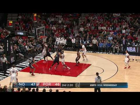 New Orleans Pelicans at Portland Trail Blazers - April 12, 2017