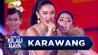 Video Karawang Pecah! Dewi Perssik feat Zaskia Gotik [TALAK TILU] - Road to Kilau Raya (18/3) MP3, 3GP, MP4, WEBM, AVI, FLV November 2018