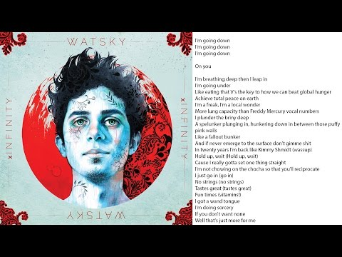 Watsky Going Down Lyrics