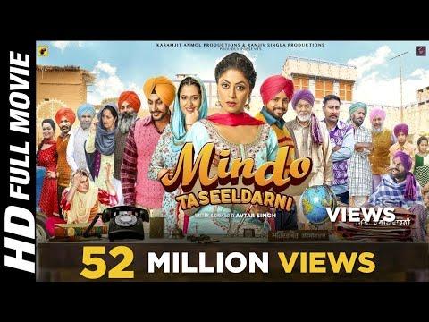 Mindo Taseeldarni Full Movie (HD) Karamjit Anmol | Kavita Kaushik | New Punjabi Movie 2019