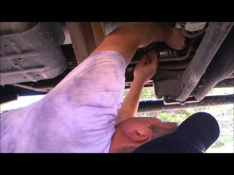 2002 Ford F-150 Fuel Filter replacement