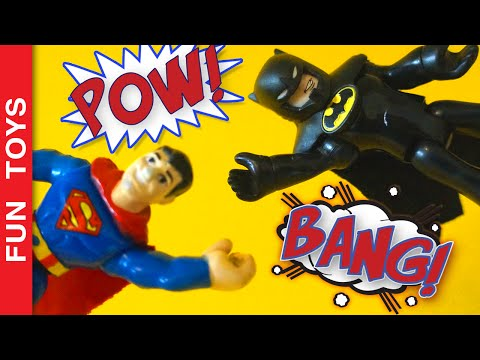 Batman v Superman Imaginext Robin, Krypto, Joker, Penguim, Two-Face, Heroes x Villains Toy Adventure:  In this Imaginext toy video Batman and Superman dispute to find out who is the best heroe in the Justice League. Meanwhile Joker, Penguim, Cat Woman, Two-Face are sucessfull at a bank robbery. Robin and Krypto call our heroes to go after the villains. What will happen? Who will be the best heroe? #TeamBatman or #TeamSuperman ?Comment below which heroe is your favorite. You can write about any heroe!Participate in our competition inspired by Batman v Superman clicking here: http://www.ascendents.net/?v=t_LIMRsD8cw&list=PL2edokDcUWHLRrau5wZfxiP5gZjU7EHhAPlease LIKE the video, SHARE with friends, and SUBSCRIBE: http://www.youtube.com/channel/UCVOq9DX3BL9bBU9FrG5MpMA?sub_confirmation=1BUY Batman v Superman Toys here: http://bit.ly/Batman_Superman✦PORTUGUÊS:Neste vídeo de brinquedos Imaginext, Batman e Superman entram numa super disputa para definir quem é o melhor. Enquanto isto os vilões Coringa, Mulher Gato, Pinguim e Duas Caras assaltam um banco. Robin e Super Cão chegam para alertar nossos heróis. O que será que vai acontecer? Quem sairá melhor nesta disputa? #TimeBatman ou #TimeSuperman ?Comente aí embaixo! Qual o seu herói preferido? Vale todo e qualquer super-herói!Participe da competição que estamos fazendo inspirados no filme Batman vs Superman, clique aqui para participar: http://www.ascendents.net/?v=t_LIMRsD8cw&list=PL2edokDcUWHLRrau5wZfxiP5gZjU7EHhAE não se esqueça de compartilhar e dar um joinha no vídeo.Inscreva-se: http://www.youtube.com/channel/UCVOq9DX3BL9bBU9FrG5MpMA?sub_confirmation=1COMPRE Brinquedos de Batman vs Superman aqui: http://bit.ly/Batman_SupermanSIGA-NOS / FOLLOW US: 😀 😅 😉 😍 😗 😜 😎✦Subscribe: http://www.youtube.com/channel/UCVOq9DX3BL9bBU9FrG5MpMA?sub_confirmation=1✦Twitter: http://twitter.com/FunToysBrinque✦Google+: http://goo.gl/QVmgp0✦Instagram: http://instagram.com/fun_toys_brinquedos/✦Blog: http://festadeideias.com.br/Fun_Toys_Brinquedos/✦Facebook: http://www.facebook.com/Fun.Toys.Brinquedos.YTWatch other Cool Videos:- Star Wars Easter Chocolate Surprise Eggs with a Kylo Ren Speaker insidehttp://www.ascendents.net/?v=hUnGeKGXLJ0&list=PL2edokDcUWHLRrau5wZfxiP5gZjU7EHhA- Angry Bird's Red Puffy Paint - DIY SpeedPainthttp://www.ascendents.net/?v=YWH9aTHTMRY&list=PL2edokDcUWHLRrau5wZfxiP5gZjU7EHhA- Star Wars Collection 10 Action Figures:http://www.ascendents.net/?v=rd2k0KAEkeE&list=PL2edokDcUWHLRrau5wZfxiP5gZjU7EHhA- Lego Transformers:http://www.ascendents.net/?v=CcTM6xRa8B4&list=PL2edokDcUWHLRrau5wZfxiP5gZjU7EHhA- Stormtrooper Nerf Action:http://www.ascendents.net/?v=NtVuiosvsRw&list=PL2edokDcUWHLRrau5wZfxiP5gZjU7EHhA- Things to do when Bored:http://www.ascendents.net/?v=Q2gUM4zJ1OQ&list=PL2edokDcUWHLRrau5wZfxiP5gZjU7EHhA- Angry Birds Toon with Toys:http://www.ascendents.net/?v=zV6h0LSBT3c&list=PL2edokDcUWHLRrau5wZfxiP5gZjU7EHhA- Star Wars - Action Movie FX Apphttp://www.ascendents.net/?v=3YWYcTvckro&list=PL2edokDcUWHLRrau5wZfxiP5gZjU7EHhA✦BONUS:Look how cool Toys are called around the world:Brinquedos, खिलौना, Spielzeug, Juguete, Игрушка, Jouet, Giocattolo, トイズ, 장난감, Speelgoed, Zabawka, צעצוע, Spiilzüüg, Chuguete, لعبة, Oyuncaq, Цацка, Играчка, খেলনা, རྩེད་ཆས།, C'hoariell, Igračka, Нааданхай, Joguina, Káh-dièu-nó̤h, Ловзо хӀума, کایەکلێ, Hračka, Bawidło, Tegan, Legetøj, Ludilo, Mänguasi, Jostailu, اسباب?بازی, Lelu, Bréagán, Xoguete, Jwèt, Játékszer, Խաղալիք, Mainan, Abalbalay, Leikfang, სათამაშო, Oyınshıq, Ойыншық, ಆಟಿಕೆ, Leyzok, Оюнчук, Ludicrum, ຂອງຫຼິ້ນ, Žaislas, Rotaļlieta, കളിപ്പാട്ടം, Āhuilli, खेलौना, न्ह्यब्वसा, Leiketøy, Leketøy, ਖਿਡਾਉਣਾ, کھڈونا, Pukllana, Jucărie, Грачка, Оонньуур, සෙල්ලම් බඩු, Igrača, Leksak, Kichezeo, பொம்மை, Бозича, ของเล่น, Laruan, Oyuncak, Шудон, Іграшка, کھلونا, Bobaine, Đồ chơi, Speelbucht, Djouwet, Mulayan, שפילכל, 玩具, おもちゃMusics: