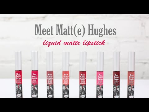 The Balm Meet Matte Hughes Adoring