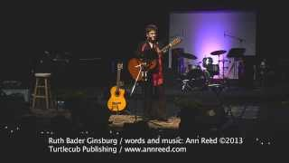 Ruth Bader Ginsburg Performed By <b>Ann Reed</b>