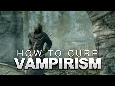 Skyrim: How to Cure Vampirism