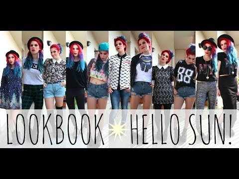 ©LOOKBOOK♡HELLO SUN☀ видео