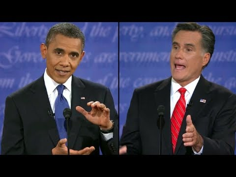 romney - President Barack Obama and Mitt Romney discuss domestic policy in the first debate of the 2012 presidential election from Denver, Colorado. Subscribe to The ...