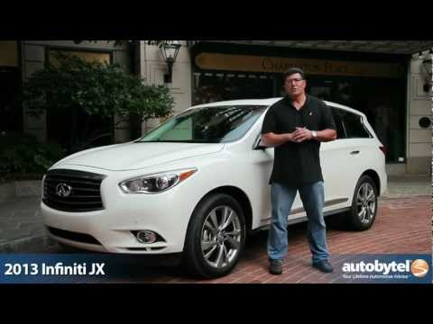 2013 Infiniti JX35 Test Drive & Luxury Crossover Review Video