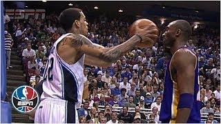 Video Kobe Bryant doesn't flinch when Matt Barnes fakes pass at his face | NBA Highlights MP3, 3GP, MP4, WEBM, AVI, FLV September 2019