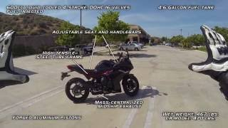 3. Bike Test! 2016 Yamaha FZ6R!