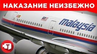 Кого накажут за сбитый малазийский гражданский самолет?