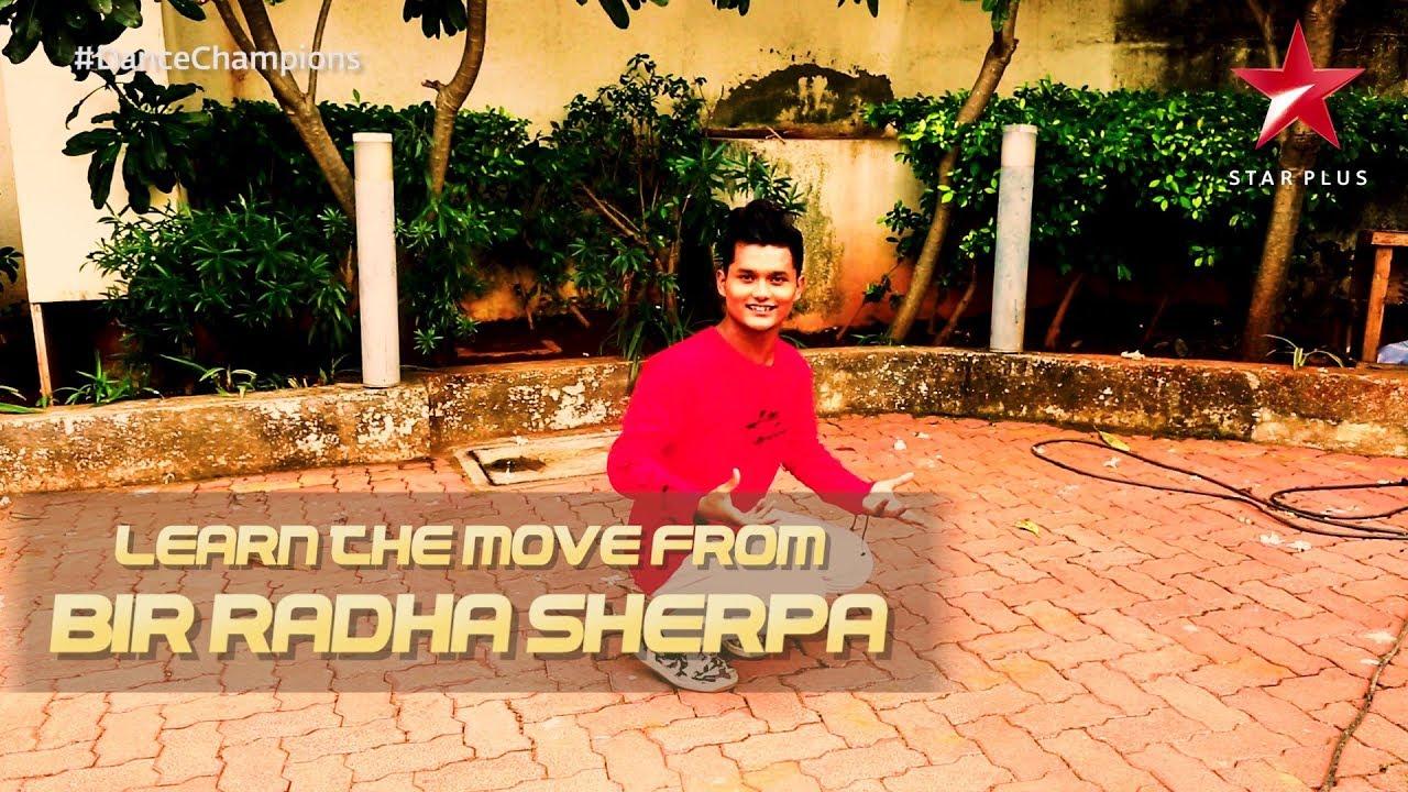 Dance Champions   Bir Radha Sherpa's Tutorial