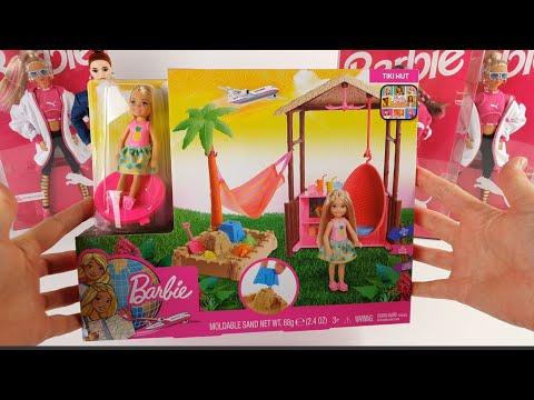 Barbie Dreamhouse Adventure Tiki Hut Unboxing