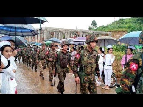 Myanmar Sipai lalten an pu Min Aung Hlaing an phatsan zel! Myanmar Indona a sosang zual zel!