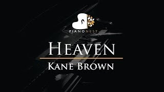 Video Kane Brown - Heaven - Piano Karaoke / Sing Along / Cover with Lyrics download in MP3, 3GP, MP4, WEBM, AVI, FLV January 2017