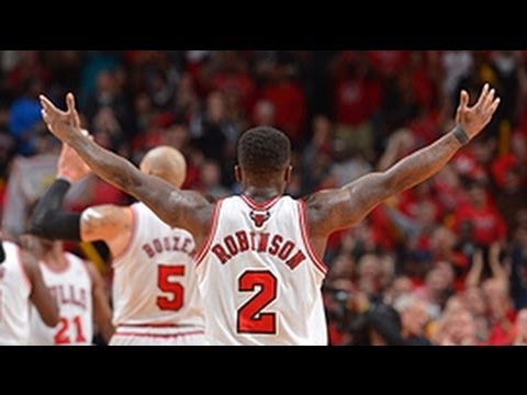 robinson - Check out the highlights from Nate Robinson's INCREDIBLE 4th quarter during the epic 3-Overtime Game 4 of the 1st round series between the Nets & Bulls! Abou...
